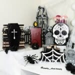 the spooky collection themed makeup organizers and storage