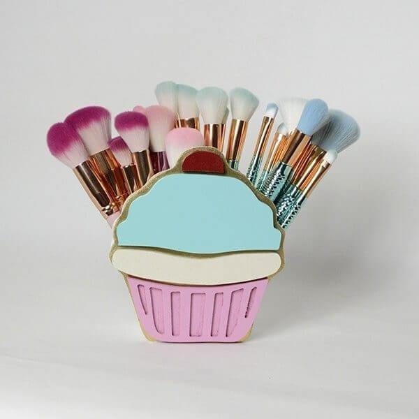 Cupcake Brush Holder