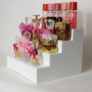 perfume display makeup organizer