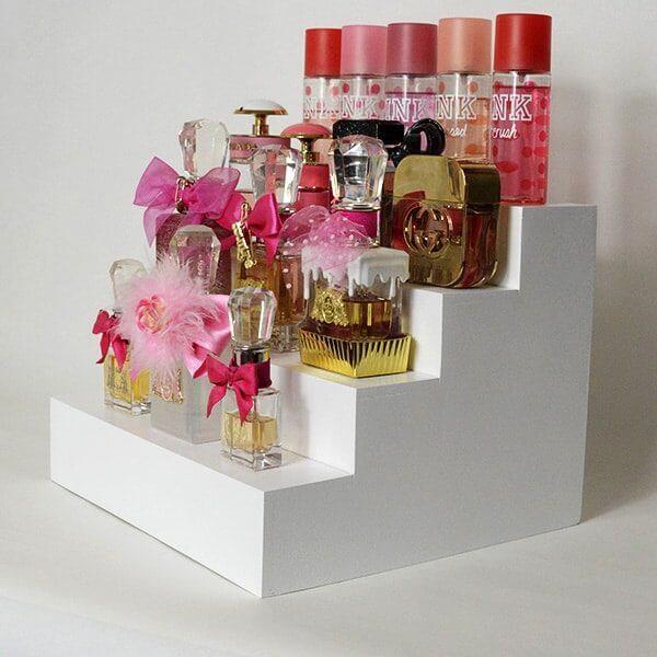 perfume display makeup organizer