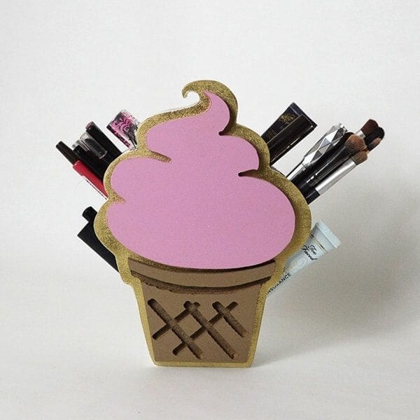 Ice Cream Lip Liner Organizer