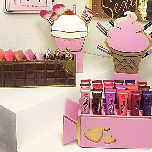 Sweets Makeup Organizer Collection