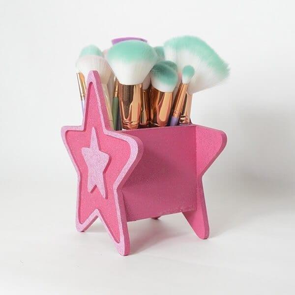 Star Makeup Brush Holder