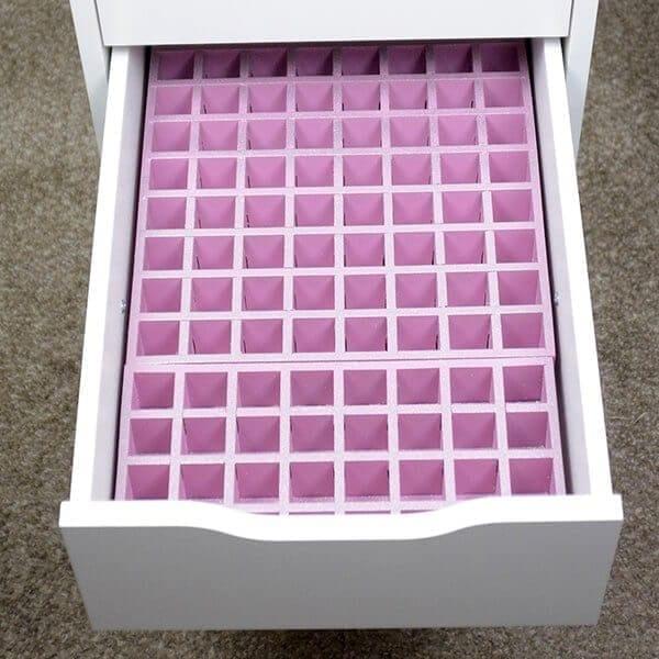 lipstick-set IKEA Drawer 5- empty